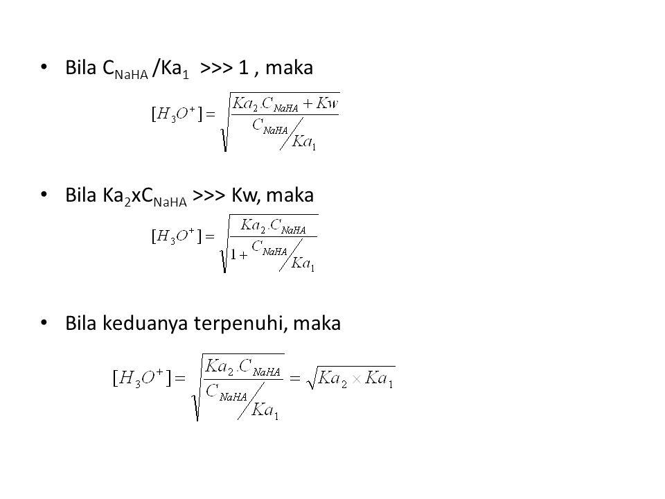 Hubungan volume dalam analisis dari campuran basa yang mengandung hidroksida, karbonat dan bikarbonat.