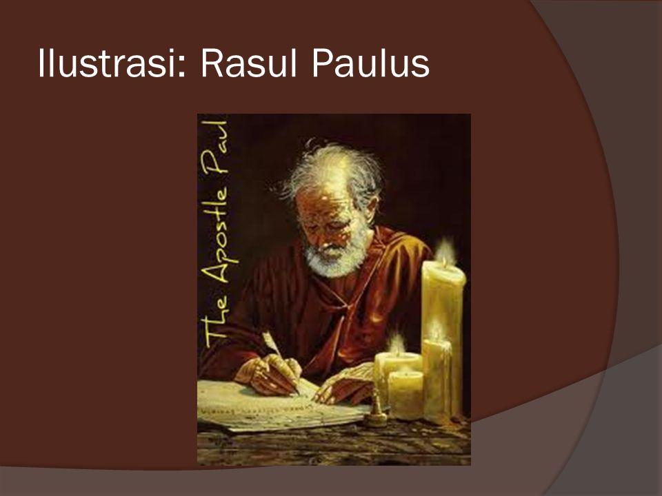 Ilustrasi: Rasul Paulus