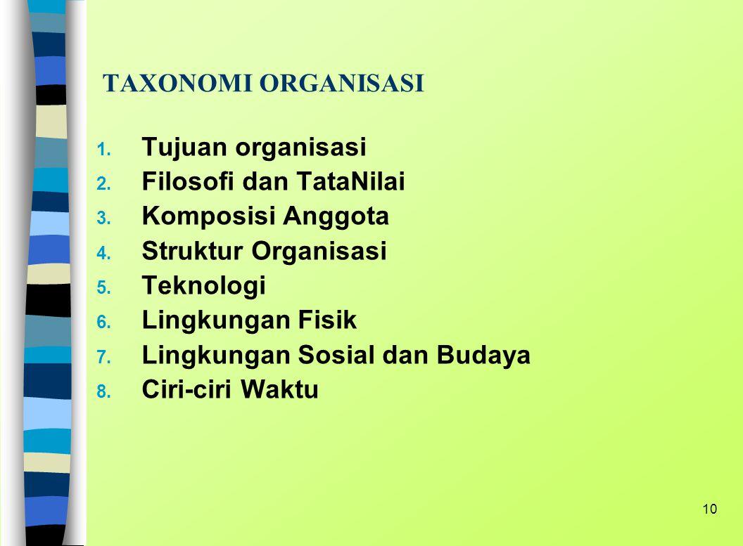 9 TEORI ORGANISASI Organisasi terbentuk/terdiri dari beberapa kelompok. Dalam penyuluhan organisasi harus bersifat pendidikan : sebagai media pendidik