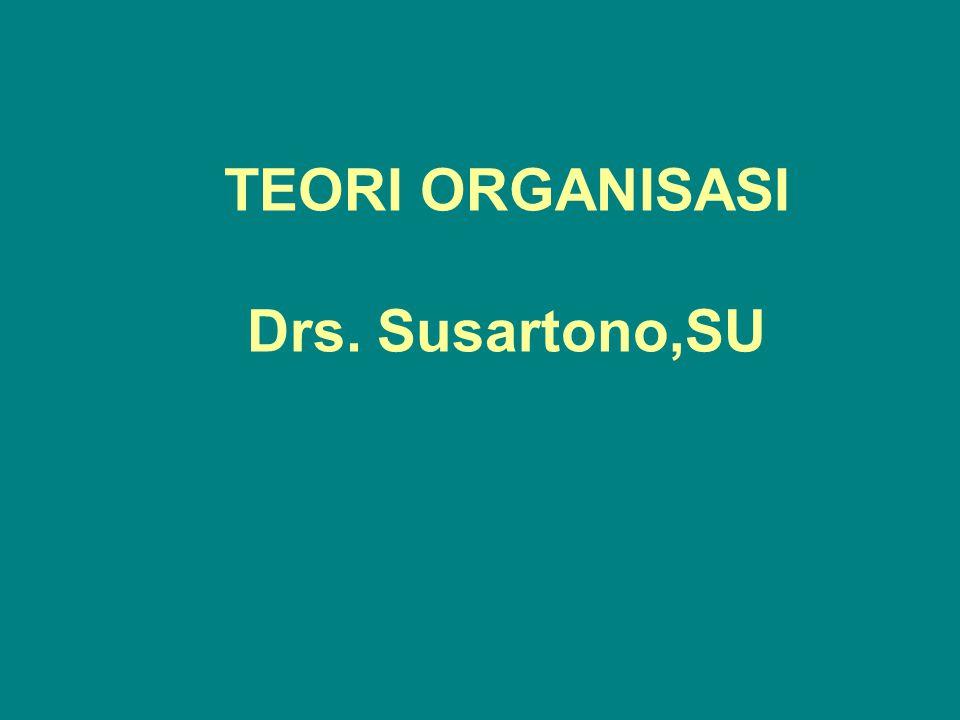 Struktur Organisasi memunculkan budaya organisasi Struktur organisasi yang berbeda memunculkan pola-pola interaksi yang berbeda di antara masing-masing personal organisasi.