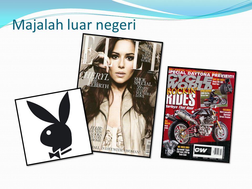 Majalah luar negeri