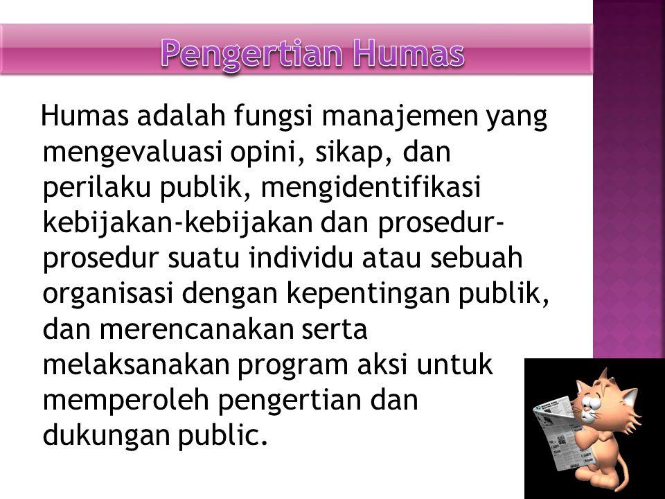 Seorang humas (public relations) harusmenguasai etika-etika antara lain: 1.