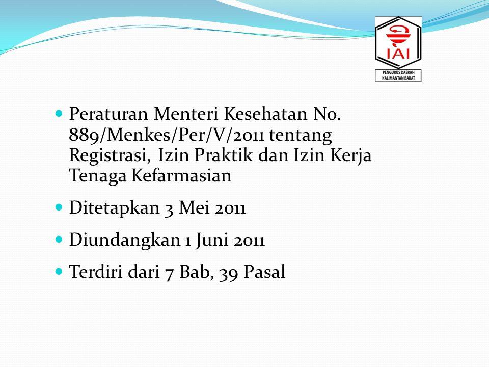 Peraturan Menteri Kesehatan No.