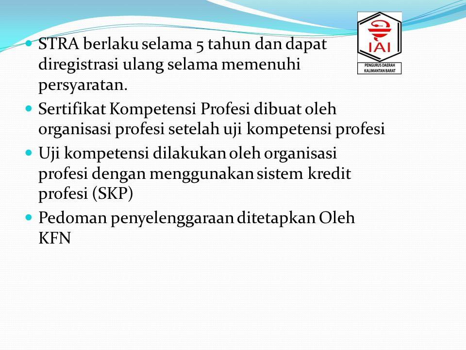 Pencabutan sipa / sika (2) Pencabutan dikirimkan kepada pemilik SIPA/SIKA dengan tembusan kepada Direktur Jenderal, Kepala Dinas Kesehatan Provinsi dan Organisasi Profesi.