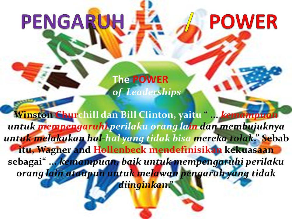 The POWER of Leaderships Winston Churchill dan Bill Clinton, yaitu ...