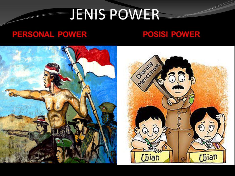 JENIS POWER PERSONAL POWER POSISI POWER