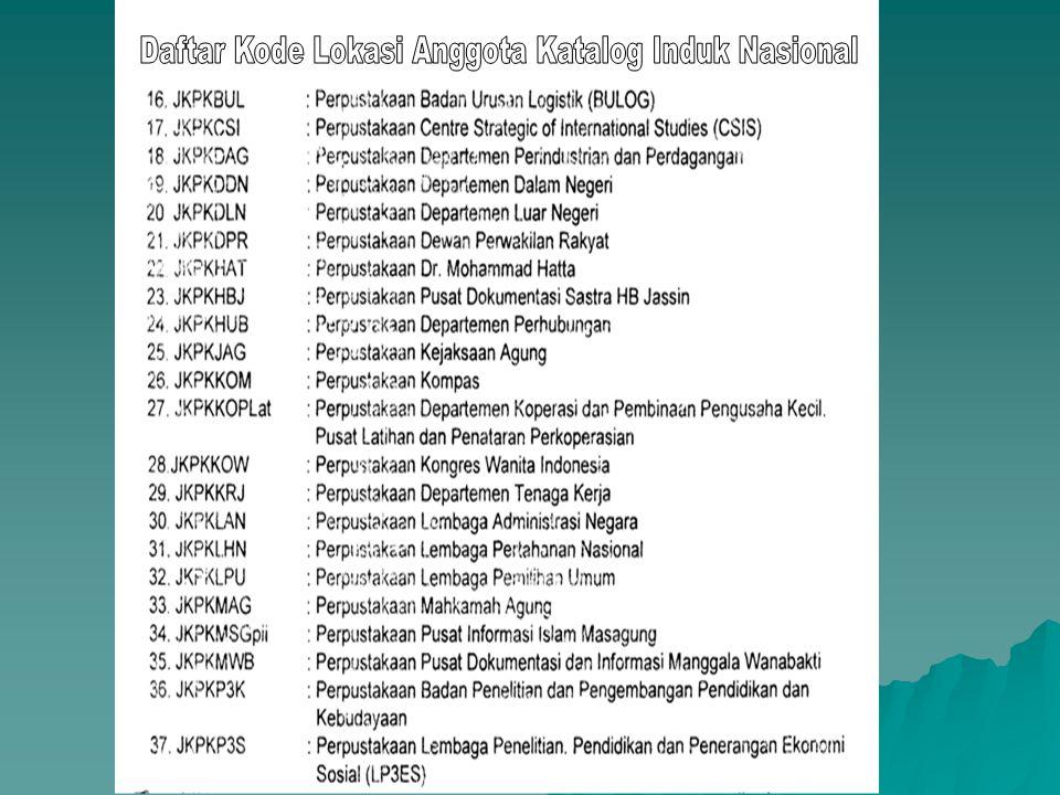 Perpustakaan National Republik Indonesia Jakarta