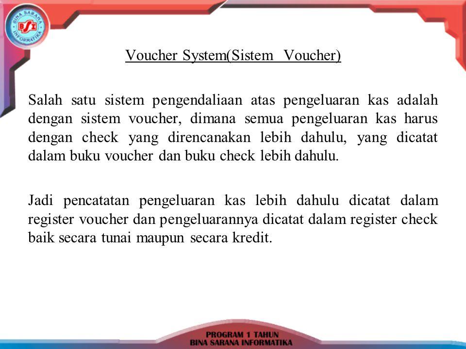 Contoh: 03/3-98 Dibeli barang dagangan dari CV Pandawa sebesar Rp 3.000.000,- dengan syarat 2/10.n/30.