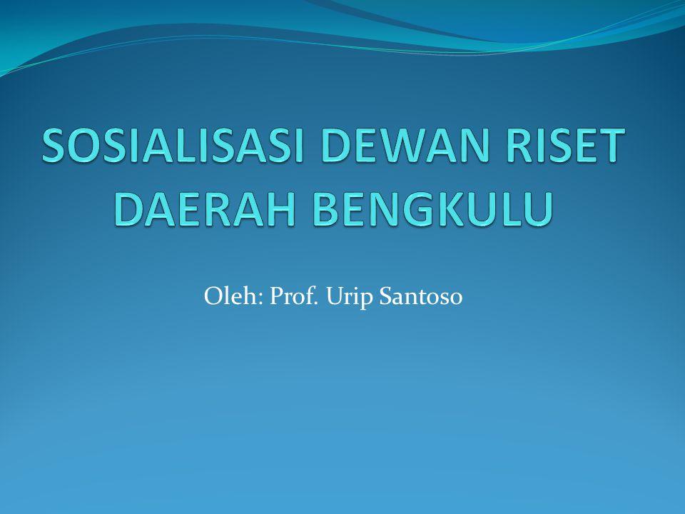 Oleh: Prof. Urip Santoso