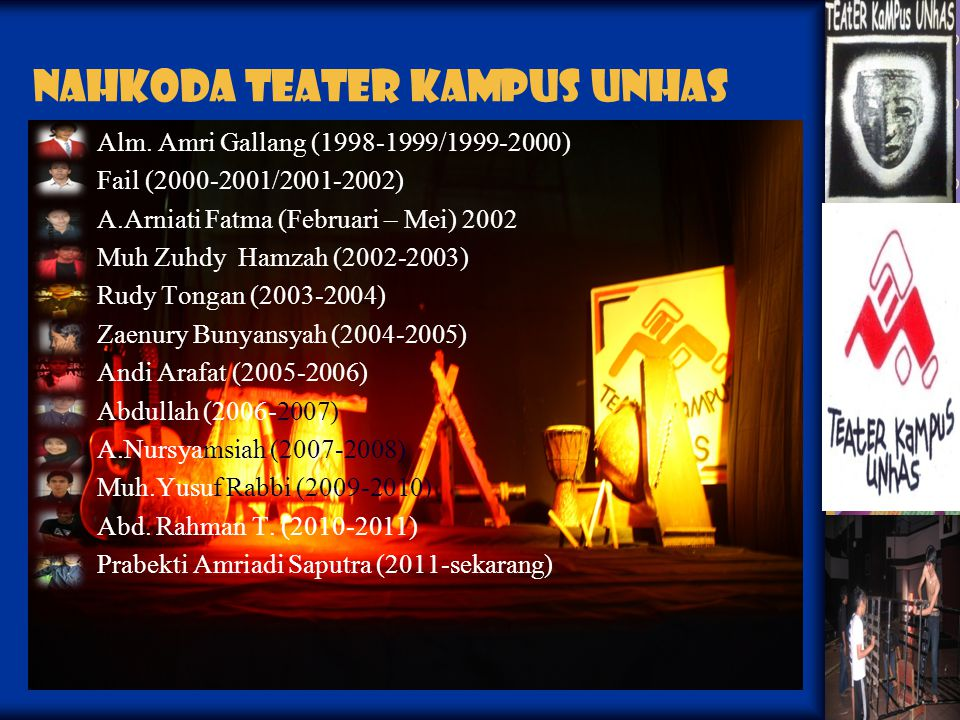 Teater Kampus Unhas Teater Proses dan Protes