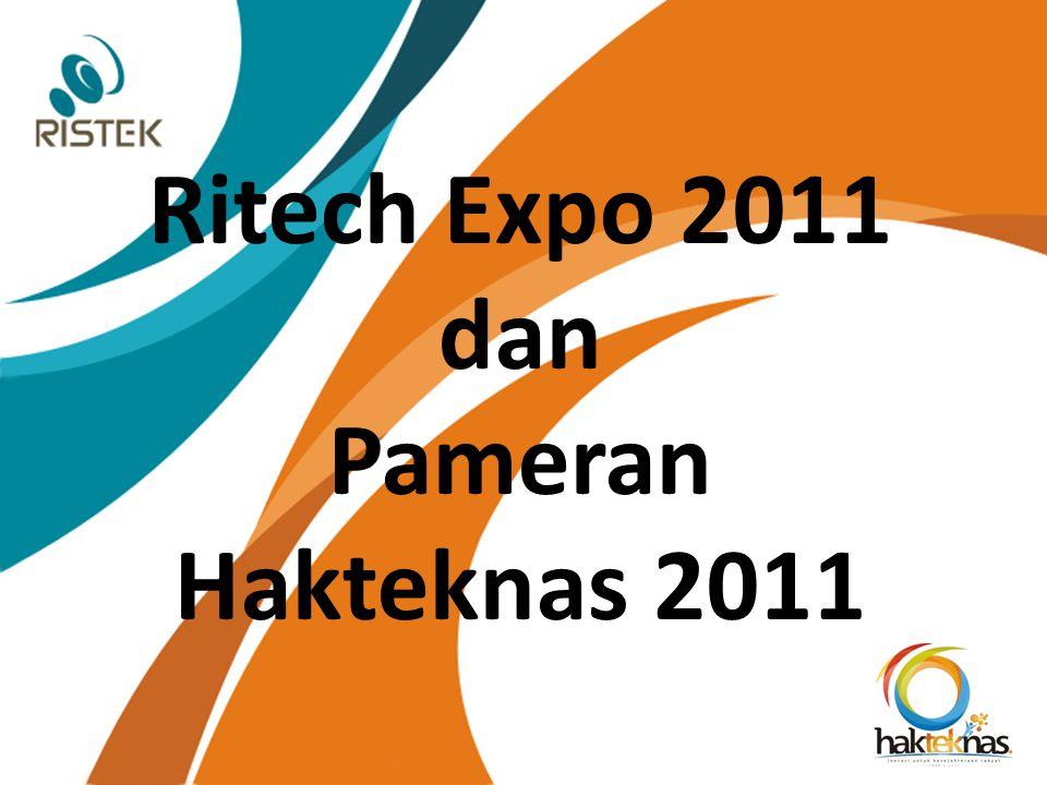 Ritech Expo 2011 dan Pameran Hakteknas 2011