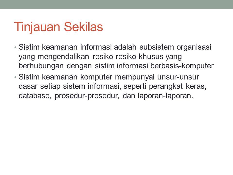 Individu yang Menimbulkan Ancaman Sistem Informasi Jenis-jenis lain dari pengganggu-pengganggu.