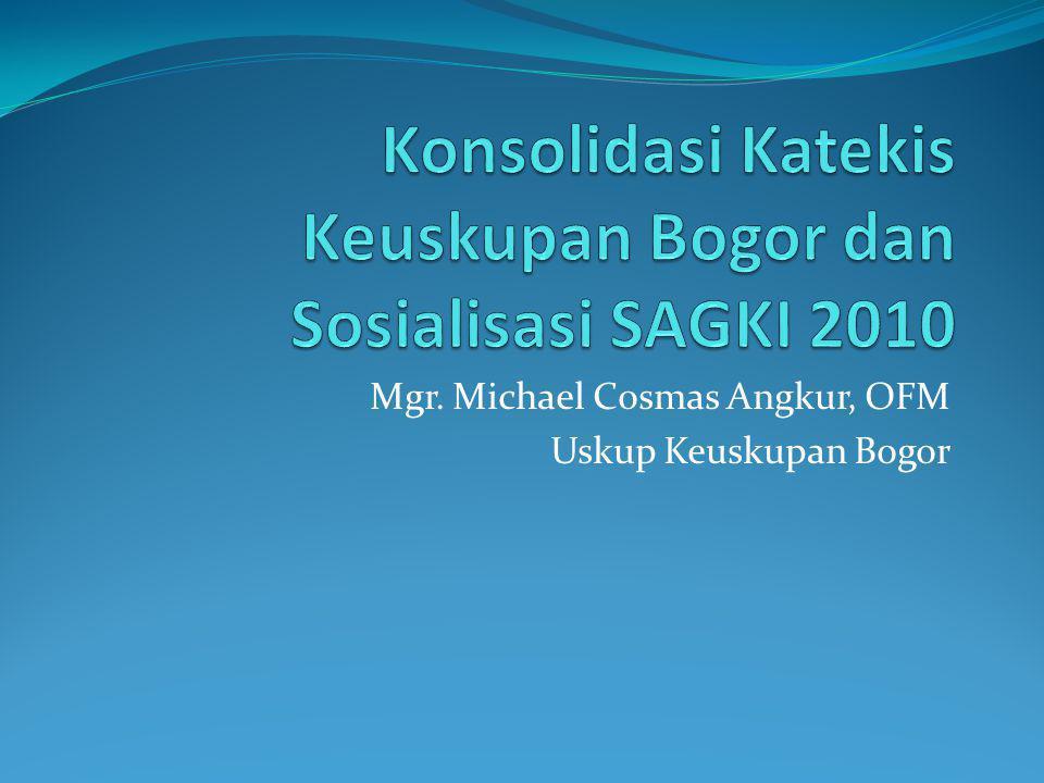 Mgr. Michael Cosmas Angkur, OFM Uskup Keuskupan Bogor
