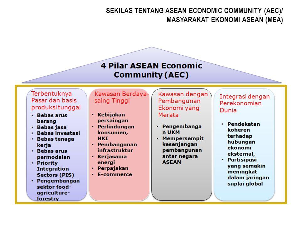 a.implementasi AEC berpotensi menjadikan Indonesia sekedar pemasok energi dan bahan baku bagi industrilasasi di kawasan ASEAN, sehingga manfaat yang diperoleh dari kekayaan sumber daya alam mininal.