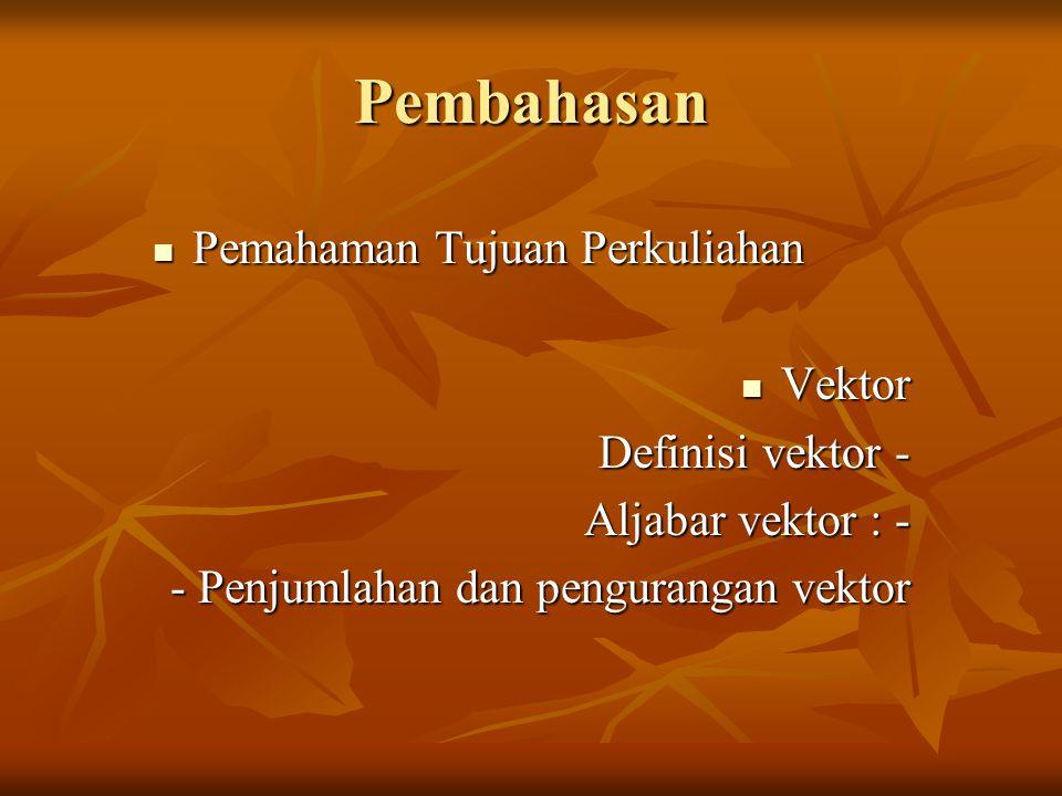 Latihan (2) :