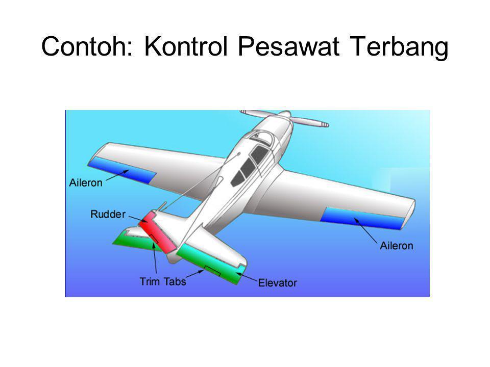 Contoh: Kontrol Pesawat Terbang