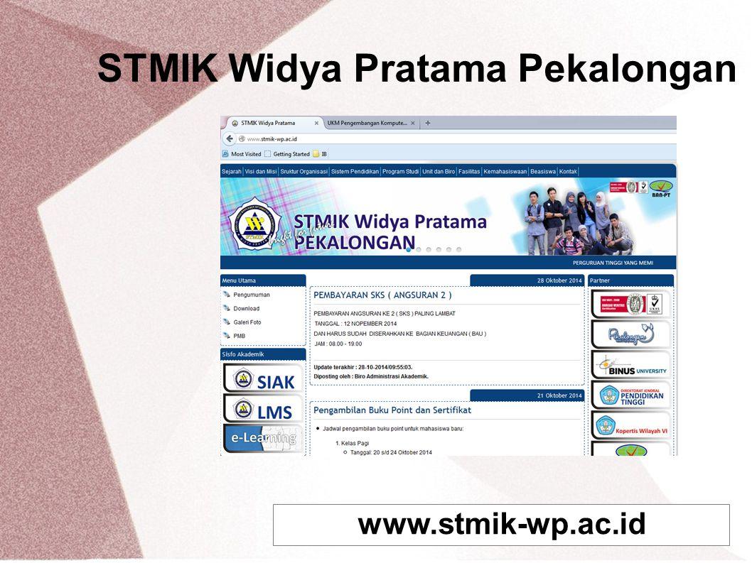 STMIK Widya Pratama Pekalongan www.stmik-wp.ac.id
