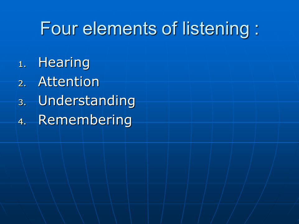 Hearing Sound waves  ear  brain (The human ear can cope with 55 to 85 decibels) Sound waves  ear  brain (The human ear can cope with 55 to 85 decibels) Human places these sounds in a meaningful order..they may be recognized as words.