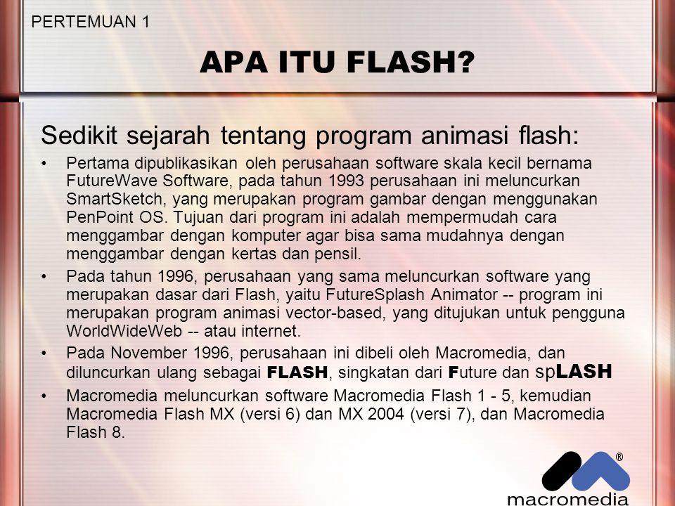 APA ITU FLASH.