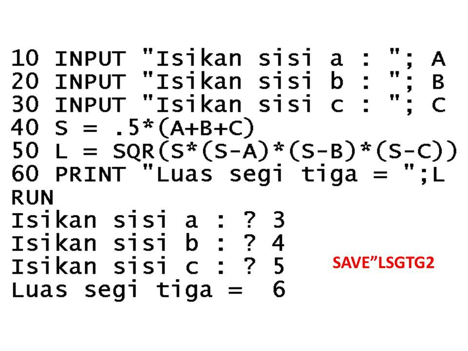 "SAVE""LSGTG2"