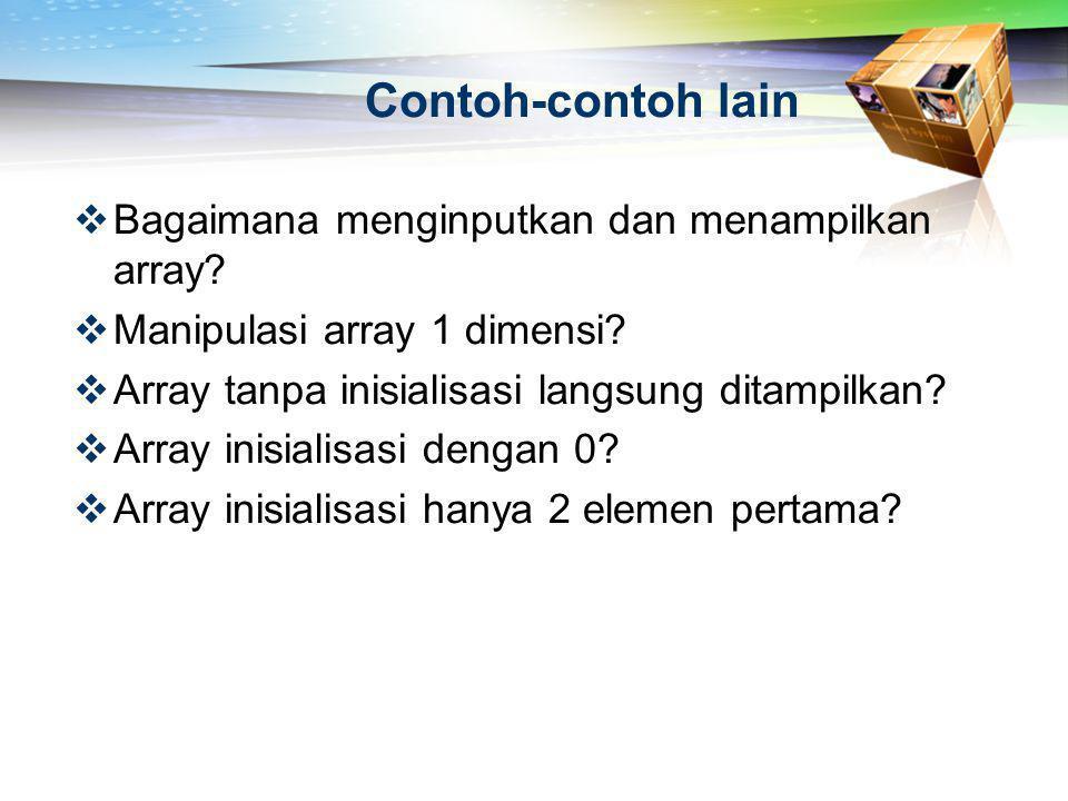 Selection Sort (2)