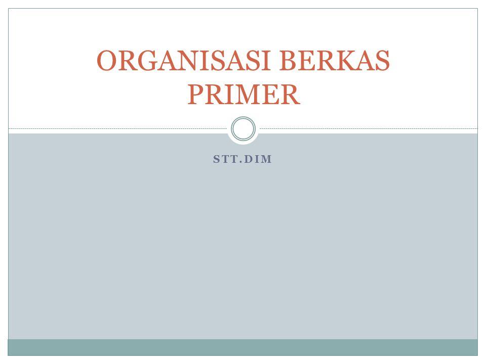 Bab ini membahas tentang cara mengorganisasikan dan mengolah informasi dalam bentuk rekaman yang tersimpan dalam bentuk berkas.