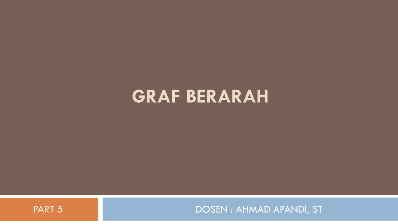 DOSEN : AHMAD APANDI, ST GRAF BERARAH PART 5