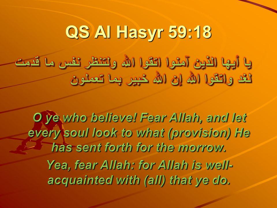 QS Al Hasyr 59:18