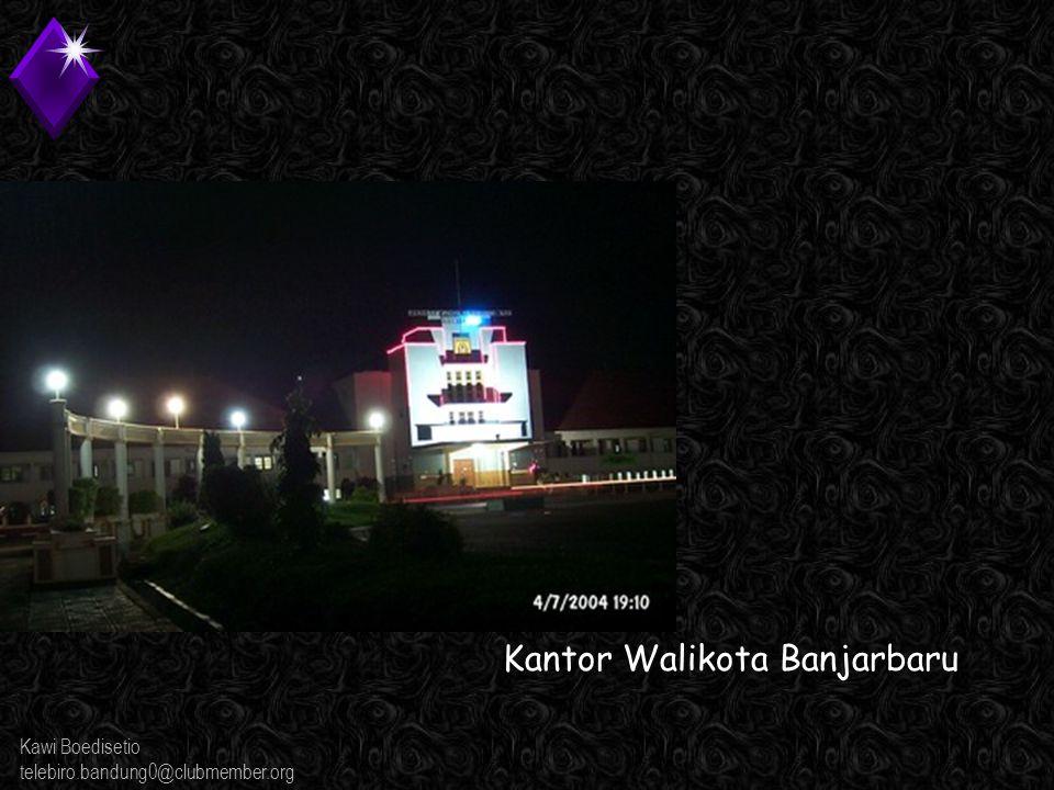 Kawi Boedisetio telebiro.bandung0@clubmember.org Ingin masakan Banjar? Di sini tempatnya...