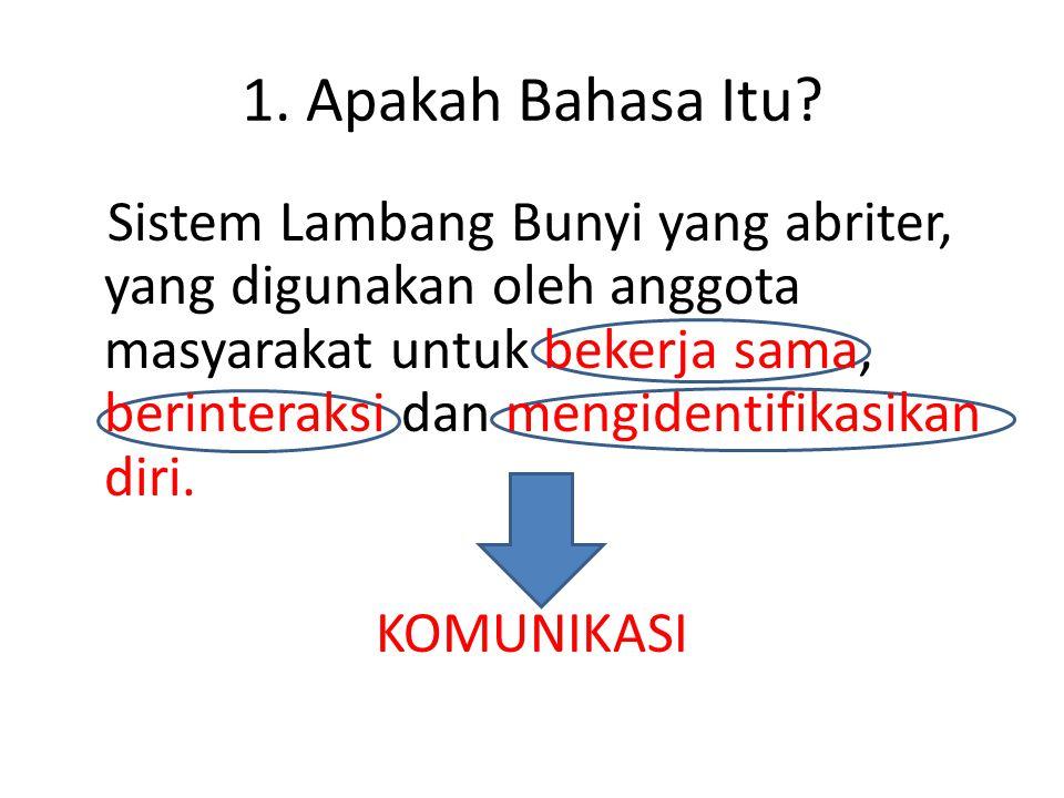 1.Apakah Bahasa Itu.
