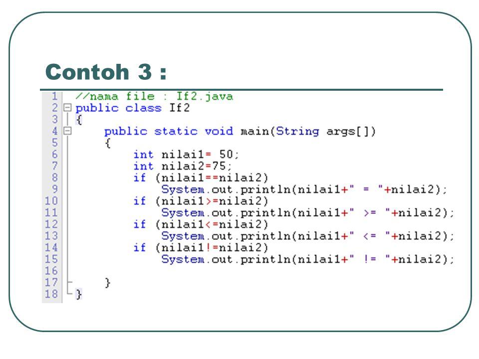 Bentuk / Syntax : if (kondisi) { } else { }  if … else if statements TrueFalse statements