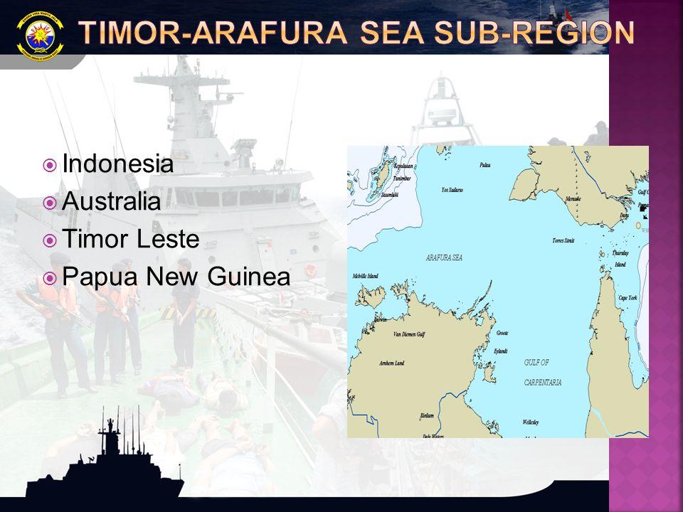  Indonesia  Australia  Timor Leste  Papua New Guinea