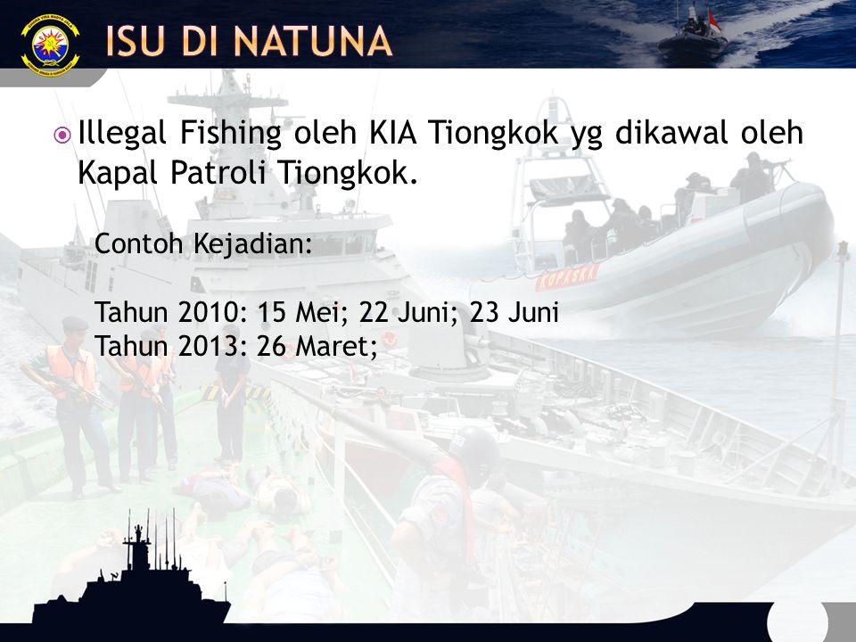 Kapal menggunakan Flags of Convenience dgn pemilik yg tidak jelas  Illegal transshipment di laut atau pelabuhan  Re-flagging di laut  Beberapa kapal menggunakan nama/identitas yg sama  Menggunakan linsensi Aspal  Beroperasi di wilayah perbatasan