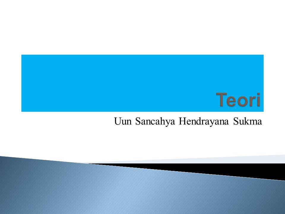 Uun Sancahya Hendrayana Sukma