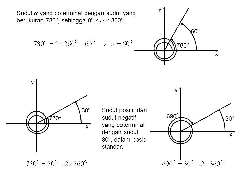 1 1 Satu radian didefinisikan sebagai besaran yang ditunjukkan dari suatu ruasgaris sepanjang 1 diputar berpangkal dari ujung pertama, sehingga perjalanan putaran ujung kedua berupa suatu busur lingkaran sepanjang 1.