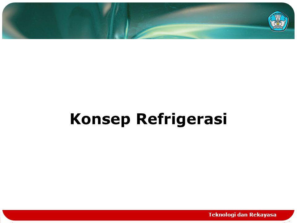Teknologi dan Rekayasa Konsep Refrigerasi