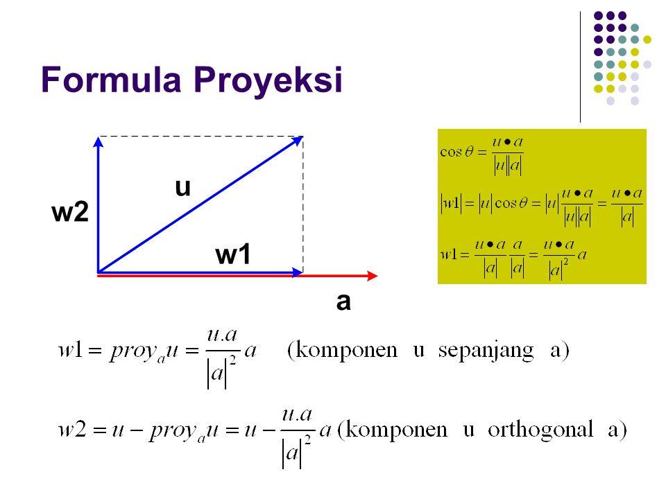 Formula Proyeksi