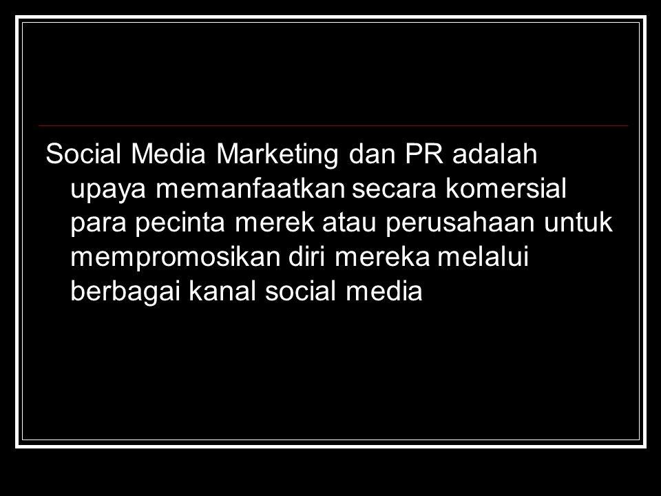 4. Public Relation on the Internet Maraknya Facebook, Twitter, Plurk, blog, wiki, youtube dan lainnya memaksa perusahaan meningkatkan cara komunikasi