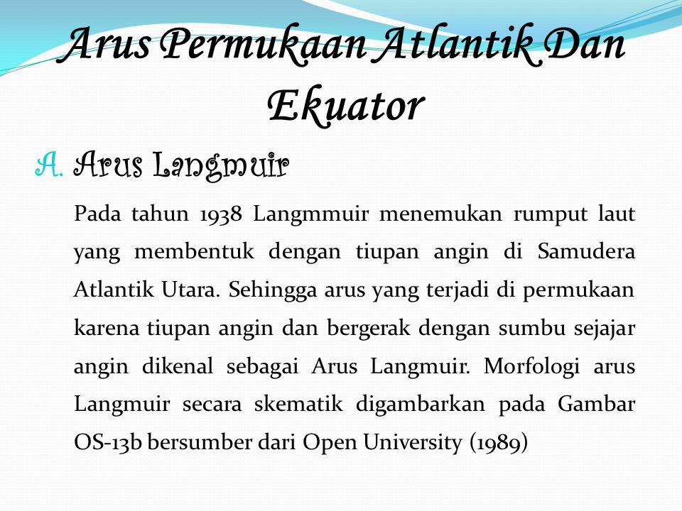 Arus Permukaan Atlantik Dan Ekuator A.