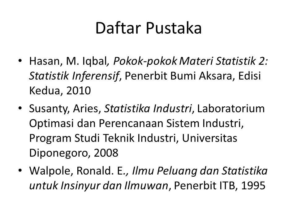 Daftar Pustaka Hasan, M.