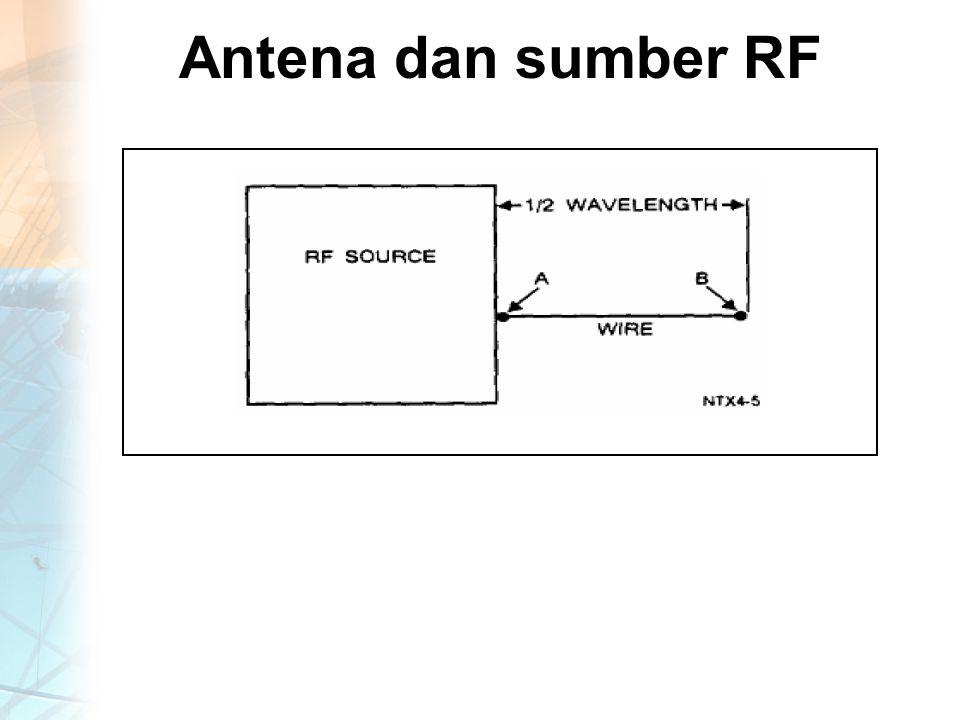 Antena dan sumber RF