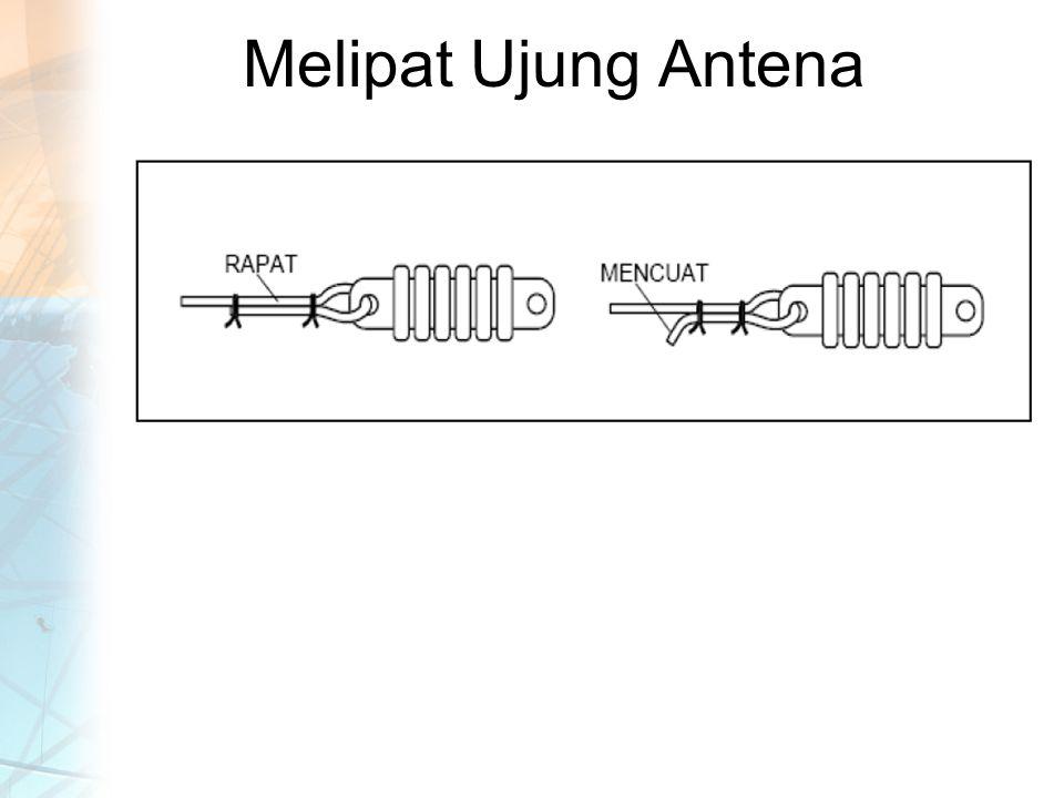 Melipat Ujung Antena