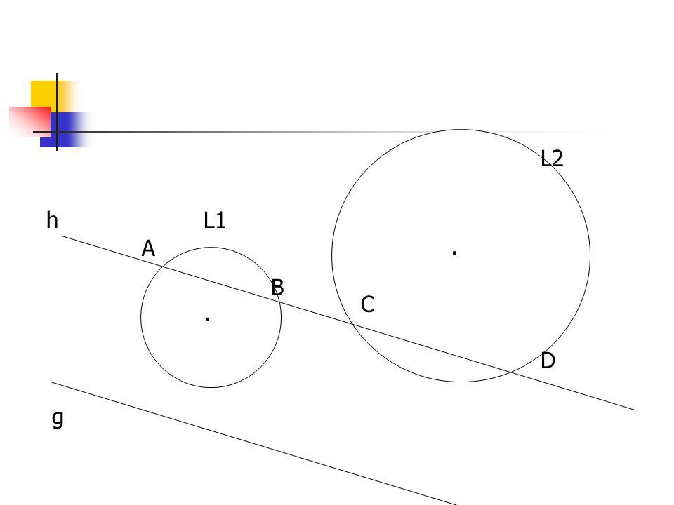 Dapatkah ditemukan titik P pada lingkaran L dengan persamaan x2+y2=36, sedemikian sehingga AP memotong CD di E dan PB memotong CD di F, jika |EF| = 2, D=(6,0), C=(-5,), A=(-4, ) dan B= (5, ).