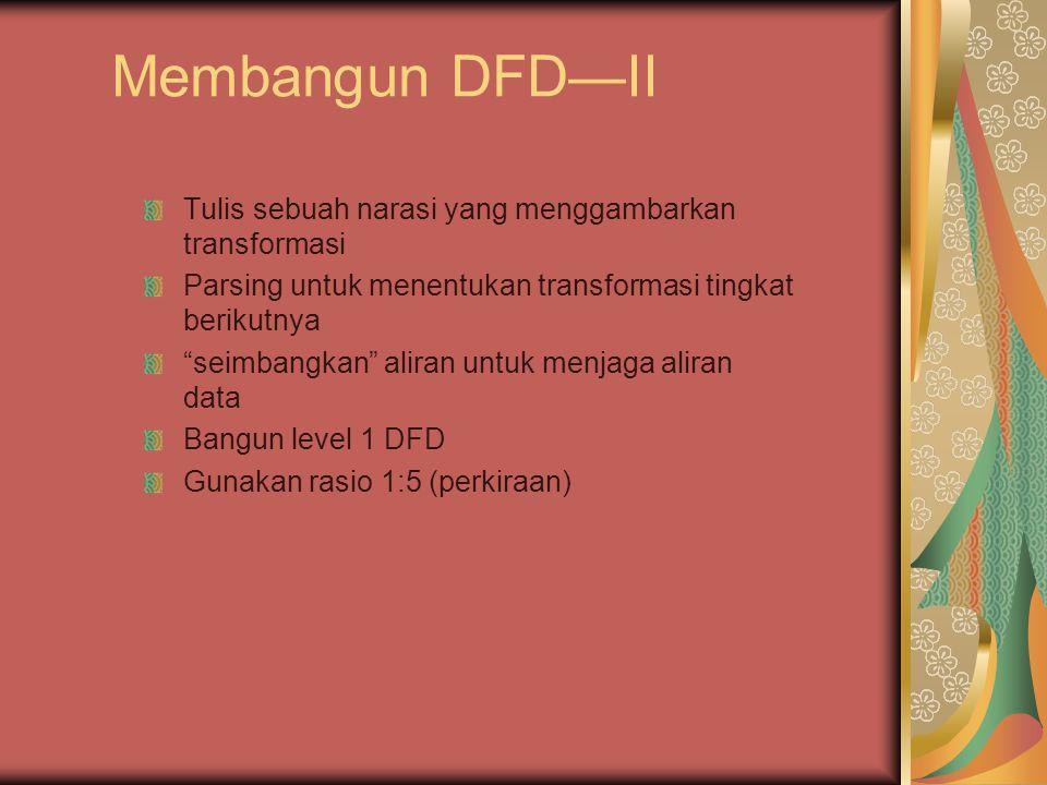 Hierarki Aliran Datang P a b xy p1 p2 p3 p4 5 a b c d e f g level 0 level 1