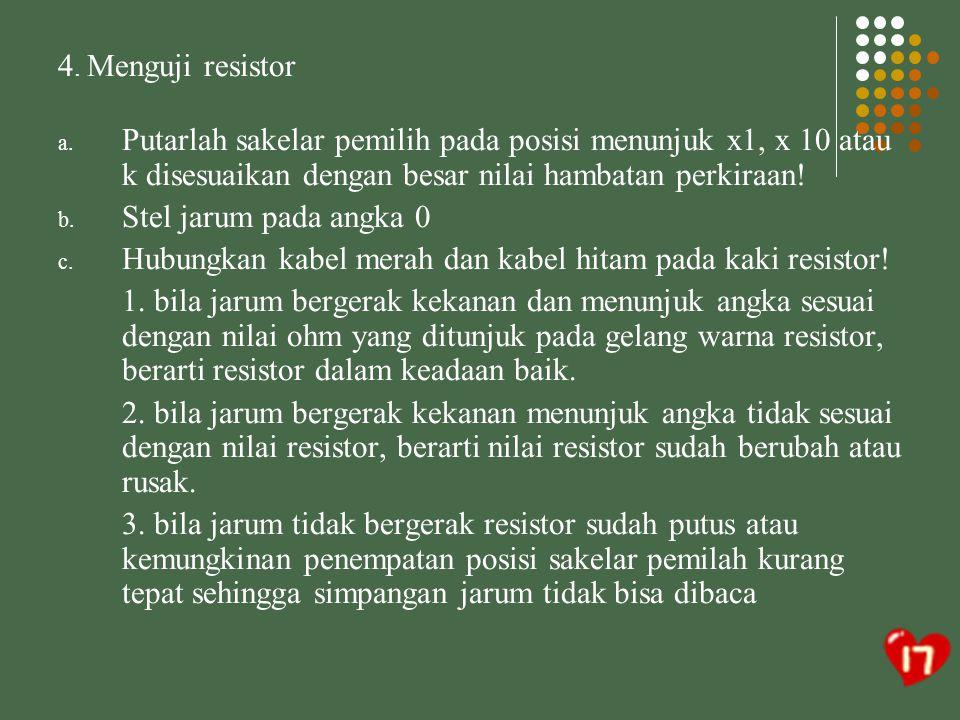B.MENGETES GOUNDRING SUMBER DAYA ADAPTOR YANG TELAH SELESAI DI RAKIT A.