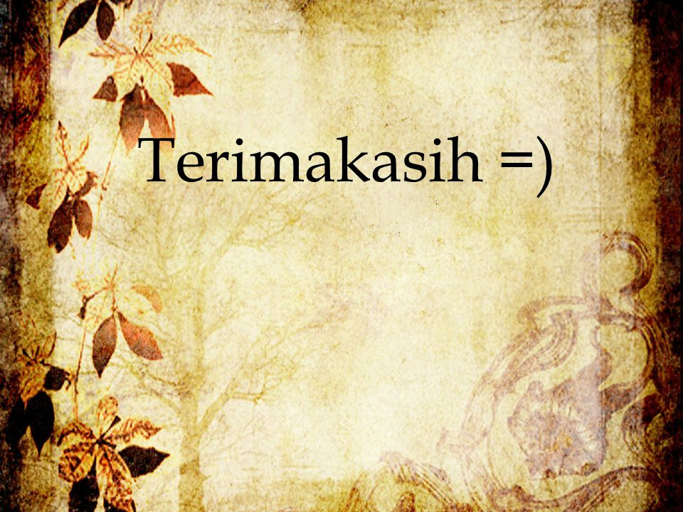 Terimakasih =)