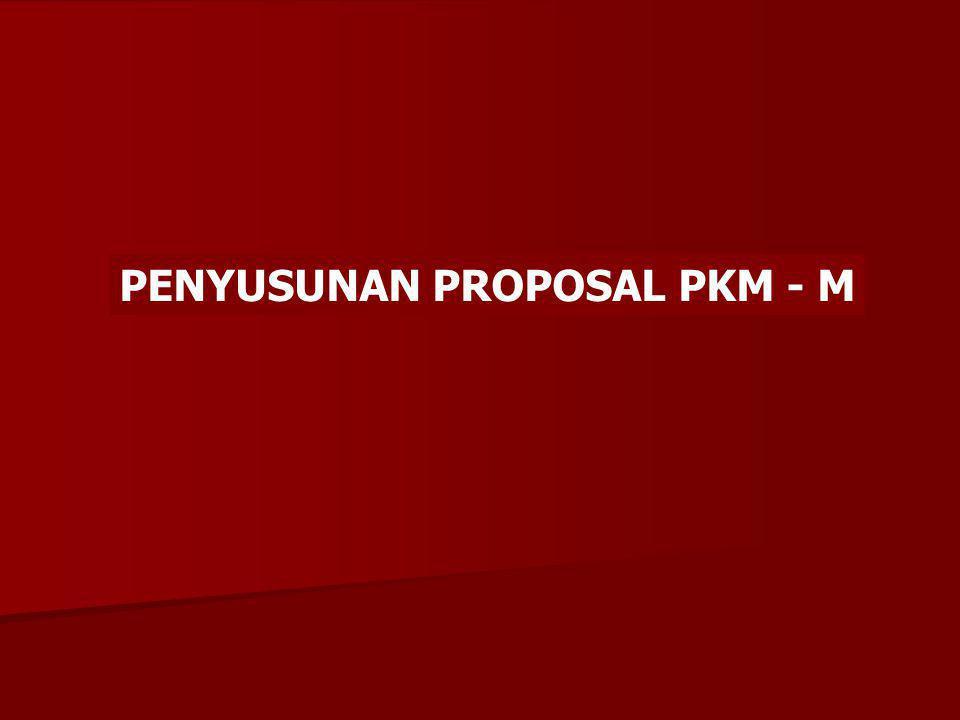 KEGUNAAN Kegunaan program untuk khalayak sasaran harus disebutkan dengan jelas dari segi ekonomi atau IPTEKS setelah kegiatan PKMM selesai dilaksanakan.