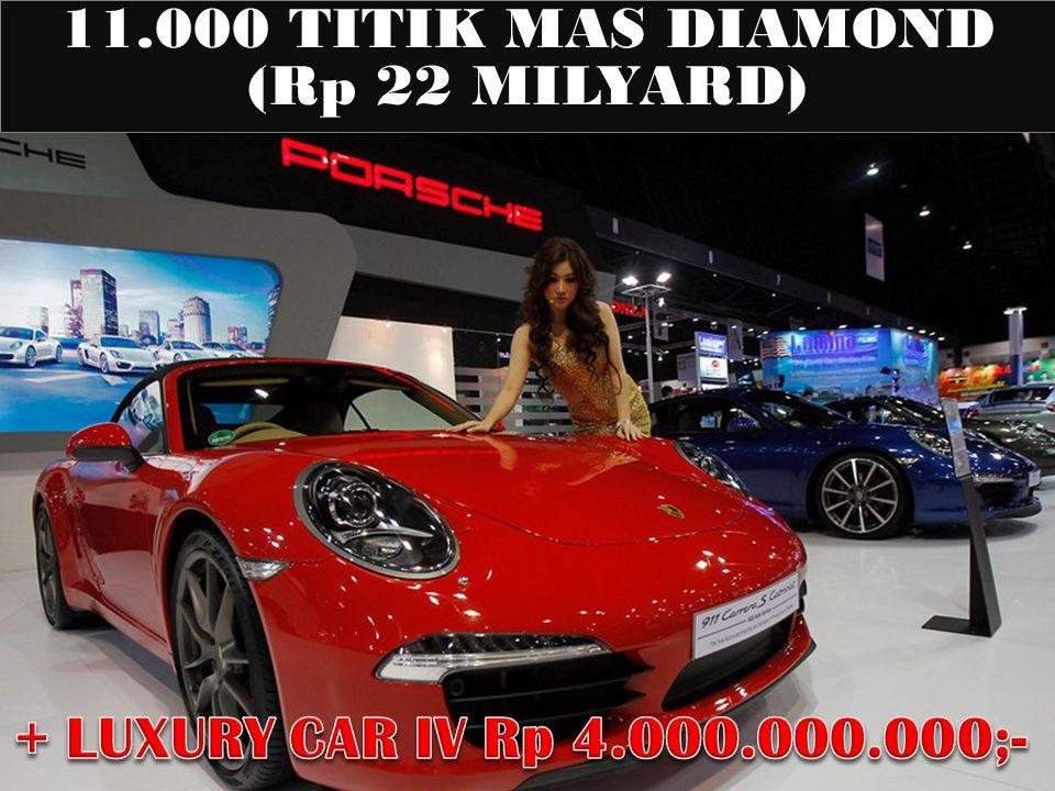 11.000 TITIK MAS DIAMOND (Rp 22 MILYARD)