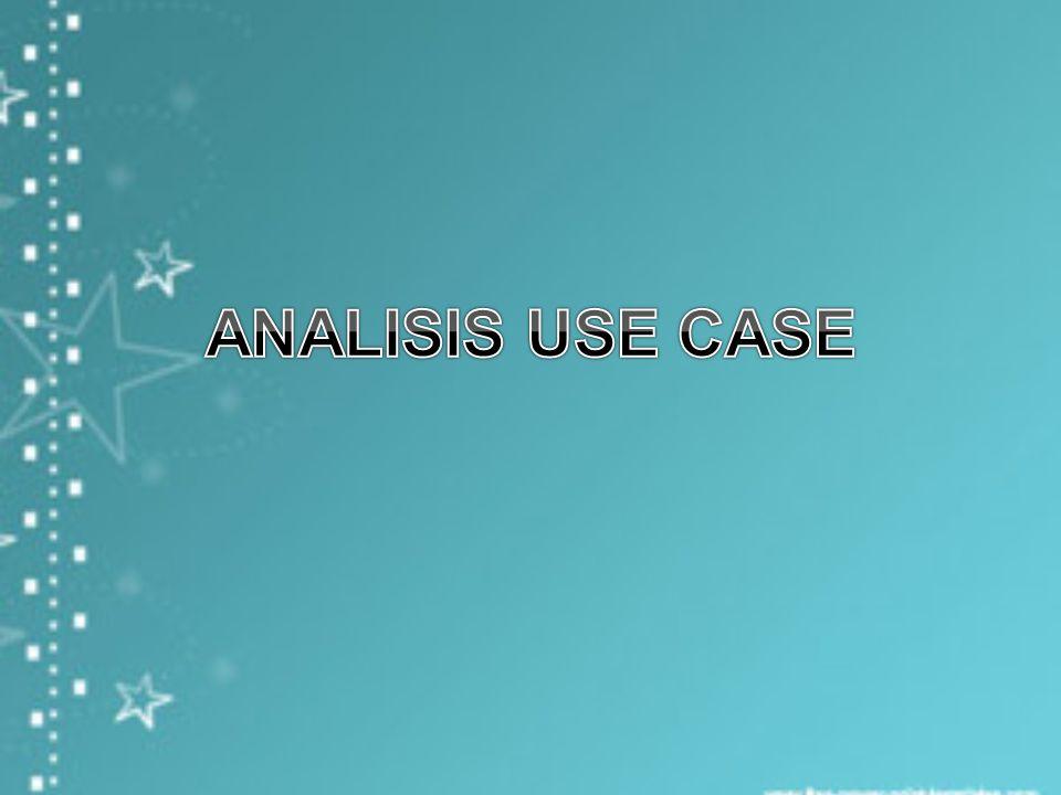 Extends dari satu use case (extendsion use case) ke use case yang lain (base uce case) menunjukkan extension use case akan mengextens (atau dimaksudkan ke) dan menambah ke base use case.