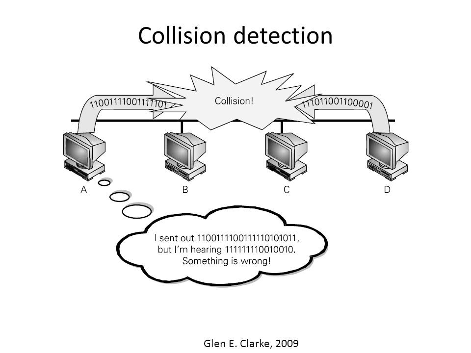 Collision detection Glen E. Clarke, 2009